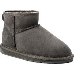 Buty EMU AUSTRALIA - Stinger Micro W10937 Charcoal 1. Szare buty zimowe damskie marki EMU Australia, z gumy. Za 549,00 zł.