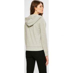 Tommy Jeans - Bluza. Szare bluzy z kapturem damskie marki Tommy Jeans, l, z bawełny. W wyprzedaży za 319,90 zł.