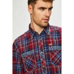 Tom Tailor Denim - Koszula. Szare koszule męskie na spinki marki S.Oliver, l, z bawełny, z włoskim kołnierzykiem, z długim rękawem. Za 259,90 zł.