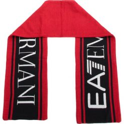 Szal EA7 EMPORIO ARMANI - 275815 8A306 00074 Rosso. Czerwone szaliki damskie EA7 Emporio Armani, z materiału. Za 399,00 zł.