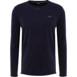 JOOP! Jeans GIANNI EXCLUSIVE Sweter navy. Niebieskie swetry klasyczne męskie JOOP! Jeans, m, z bawełny. Za 419,00 zł.