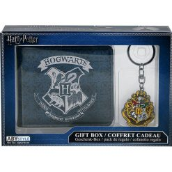Harry Potter Geschenkbox Portfel wielokolorowy. Szare portfele męskie Harry Potter. Za 79,90 zł.