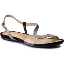 Sandały damskie: Sandały MACCIONI – 253.300.031 Srebrny