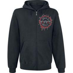 Bejsbolówki męskie: Guns N' Roses Suicide Skull Bluza z kapturem rozpinana czarny