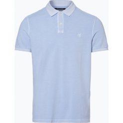 Marc O'Polo - Męska koszulka polo, niebieski. Niebieskie koszulki polo Marc O'Polo, m. Za 179,95 zł.