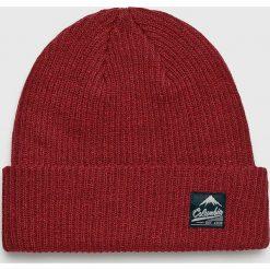 Columbia - Czapka. Brązowe czapki zimowe męskie Columbia, na zimę, z dzianiny. Za 99,90 zł.