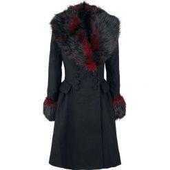 Hell Bunny Rock Noir Coat Płaszcz damski czarny/czerwony. Szare płaszcze damskie z futerkiem marki bonprix. Za 599,90 zł.
