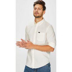 Lee - Koszula. Szare koszule męskie na spinki marki S.Oliver, l, z bawełny, z włoskim kołnierzykiem, z długim rękawem. Za 219,90 zł.