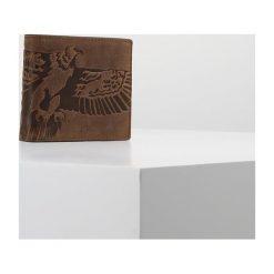 Portfele męskie: Fossil EAGLE  Portfel brown