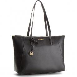Torebka COCCINELLE - CF5 Clementine E1 CF5 11 01 01 Noir 001. Czarne torebki klasyczne damskie Coccinelle, ze skóry, duże. W wyprzedaży za 919,00 zł.