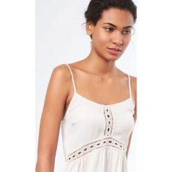 Etam - Top piżamowy Bora Bora. Niebieskie piżamy damskie marki Etam, l, z bawełny. W wyprzedaży za 59,90 zł.