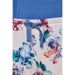 Esotiq - Piżama Thilo. Szare piżamy damskie marki Esotiq, z haftami, z elastanu. W wyprzedaży za 89,90 zł.