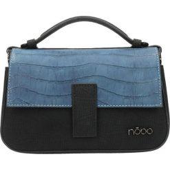 Nobo - Torebka. Szare torebki klasyczne damskie Nobo, w paski, z materiału, duże. W wyprzedaży za 99,90 zł.