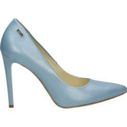 Buty ślubne damskie: Czółenka - 101144 PEL CE