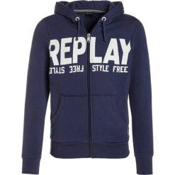 Bejsbolówki męskie: Replay Bluza rozpinana midnight blue