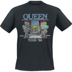 T-shirty męskie: Queen Tour '80 T-Shirt czarny