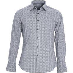 Szara Koszula Foremost. Niebieskie koszule męskie marki Born2be, m, z krótkim rękawem. Za 79,99 zł.