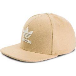 Czapka adidas - T H Snapback Ca CV8145 Ashpea/White. Brązowe czapki damskie marki Adidas, z wełny. Za 139,00 zł.