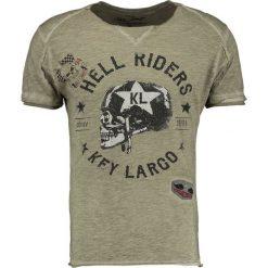T-shirty męskie z nadrukiem: Key Largo HELL RIDERS Tshirt z nadrukiem khaki