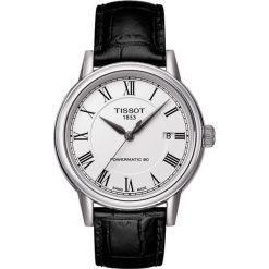 RABAT ZEGAREK TISSOT T-CLASSIC T085.407.16.013.00. Białe zegarki męskie TISSOT, ze stali. W wyprzedaży za 1931,60 zł.