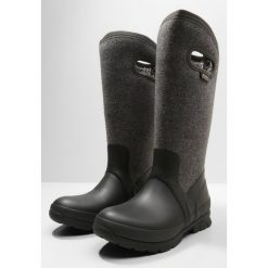 Buty zimowe damskie: Bogs CRANDALL TALL Kalosze dark gray