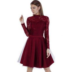 Długie sukienki: Sukienka w kolorze bordowym