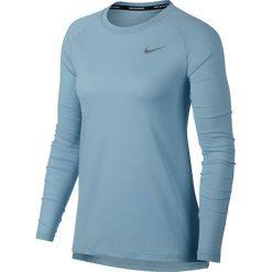 Koszulka do biegania damska NIKE TAILWIND LONG SLEEVE RUNNING TOP / 890200-452. Czarne bluzki z odkrytymi ramionami marki Nike, xs, z bawełny. Za 143,00 zł.