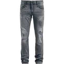 Shine Original Woody - Slim Jeansy szary. Szare jeansy męskie slim Shine Original. Za 199,90 zł.
