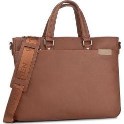 Torba na laptopa WITTCHEN - 85-3P-503-5 Brązowy. Brązowe plecaki męskie marki Wittchen. W wyprzedaży za 219,00 zł.