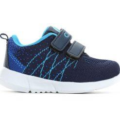 Ciemnoniebieskie Buty Sportowe Flat Twine. Niebieskie buciki niemowlęce chłopięce marki Born2be, z materiału, z okrągłym noskiem, na obcasie. Za 39,99 zł.