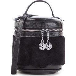 Torebka KAZAR - 36229-FS-00 Black. Czarne torebki klasyczne damskie Kazar, z futra. Za 499,00 zł.