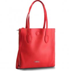 Torebka NOBO - NBAG-F0750-C005  Czerwony. Czerwone torebki klasyczne damskie marki Nobo, ze skóry ekologicznej. W wyprzedaży za 159,00 zł.