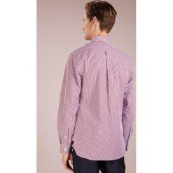 Polo Ralph Lauren SLIM FIT Koszula burgundy/white. Szare koszule męskie slim marki Polo Ralph Lauren, l, z bawełny, button down, z długim rękawem. Za 509,00 zł.