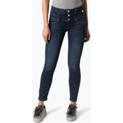 Liu Jo Collection - Jeansy damskie – Rampy, niebieski. Niebieskie spodnie z wysokim stanem Liu Jo Collection, z jeansu. Za 599,95 zł.