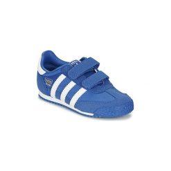 Buty Dziecko adidas  DRAGON OG CF I. Niebieskie trampki chłopięce Adidas. Za 175,20 zł.