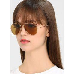 RayBan AVIATOR Okulary przeciwsłoneczne goldcoloured/photo brown. Żółte okulary przeciwsłoneczne damskie aviatory Ray-Ban. Za 719,00 zł.