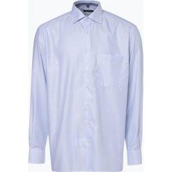 Eterna Comfort Fit - Koszula męska niewymagająca prasowania, niebieski. Niebieskie koszule męskie non-iron Eterna Comfort Fit, m. Za 249,95 zł.