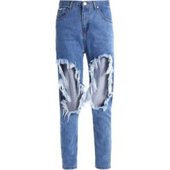 Boyfriendy damskie: Glamorous Jeansy Relaxed Fit mid blue