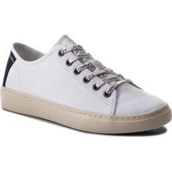 Tenisówki TOMMY JEANS - Light Textile Low EM0EM00102 White 100. Białe tenisówki męskie Tommy Jeans, z jeansu. Za 299,00 zł.