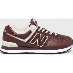 New Balance - Buty ML574WND. Szare buty skate męskie New Balance, z materiału, na sznurówki. Za 399,90 zł.
