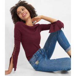 Jeansy skinny z haftem. Niebieskie jeansy damskie marki Orsay, z haftami, z bawełny. W wyprzedaży za 95,00 zł.