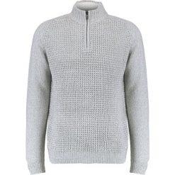 Swetry klasyczne męskie: Burton Menswear London HALF ZIP Sweter grey