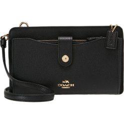 Coach POP UP MESSENGER Torba na ramię black. Czarne torebki klasyczne damskie marki Coach. Za 819,00 zł.
