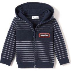 Bluzy niemowlęce: Bluza z kapturem, podszewka z sherpy 1 miesiąc – 3 latka