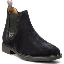Sztyblety GANT - Lydia 15543035  Marine G69. Niebieskie buty zimowe damskie marki GANT, z materiału, marine. W wyprzedaży za 359,00 zł.