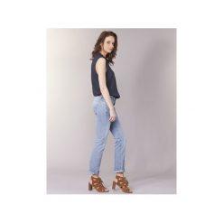 Jeansy straight leg Freeman T.Porter  CATHYA SDM. Niebieskie jeansy damskie marki Freeman T. Porter. Za 319,20 zł.