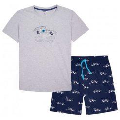 Piżamy męskie: Piżama z krótkimi spodniami męska