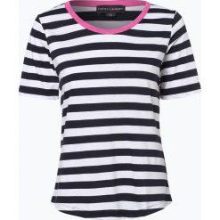 Franco Callegari - T-shirt damski, niebieski. Zielone t-shirty damskie marki Franco Callegari, z napisami. Za 69,95 zł.