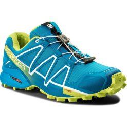 Buty SALOMON - Speedcross 4 400746 31 V0 Hawaiian Surf/Acid Lime/White. Niebieskie buty do biegania męskie Salomon, z materiału, na sznurówki, salomon speedcross. W wyprzedaży za 369,00 zł.