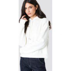 Samsoe & Samsoe Bluza z kapturem Kelsey - White,Offwhite. Białe bluzy rozpinane damskie Samsøe & Samsøe, z długim rękawem, długie, z kapturem. Za 485,95 zł.